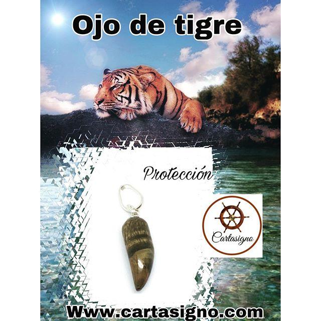 cuerno ojo de tigre.  60 S/.